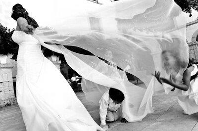 Niños en las bodas: ideas para que los más pequeños no se pierdan la fiesta
