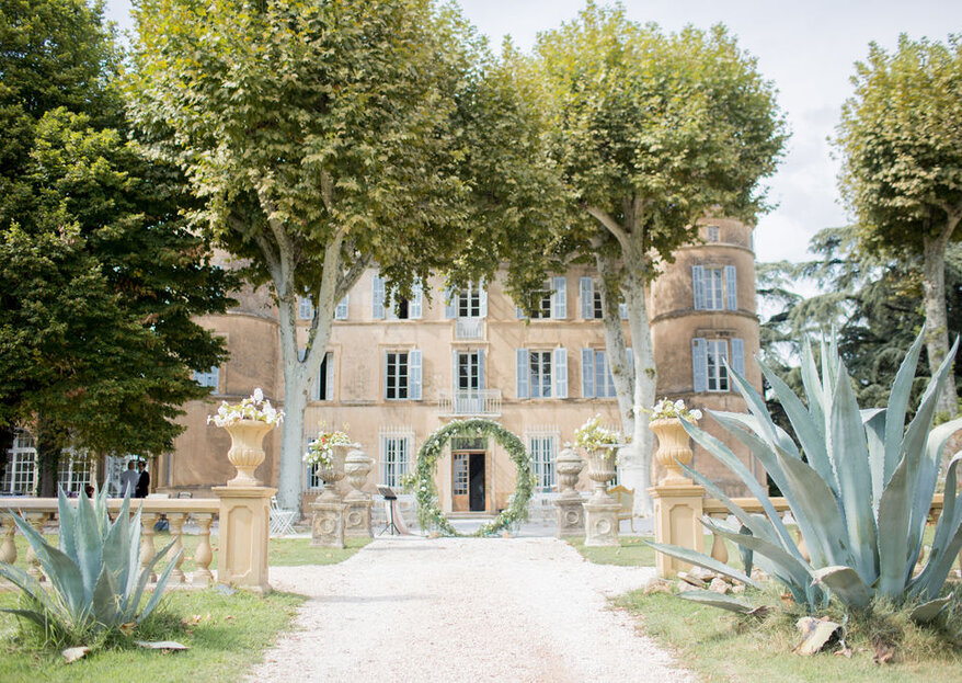 My Wedding in Provence: from a fairytale Chateau to a rural-chic vineyard