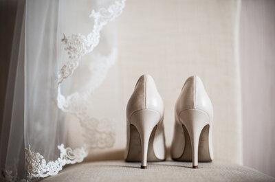 5 tips om de perfecte bruidsschoen te vinden