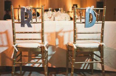 So schick können Sie die Stühle für Ihre Hochzeitsfeier dekorieren!