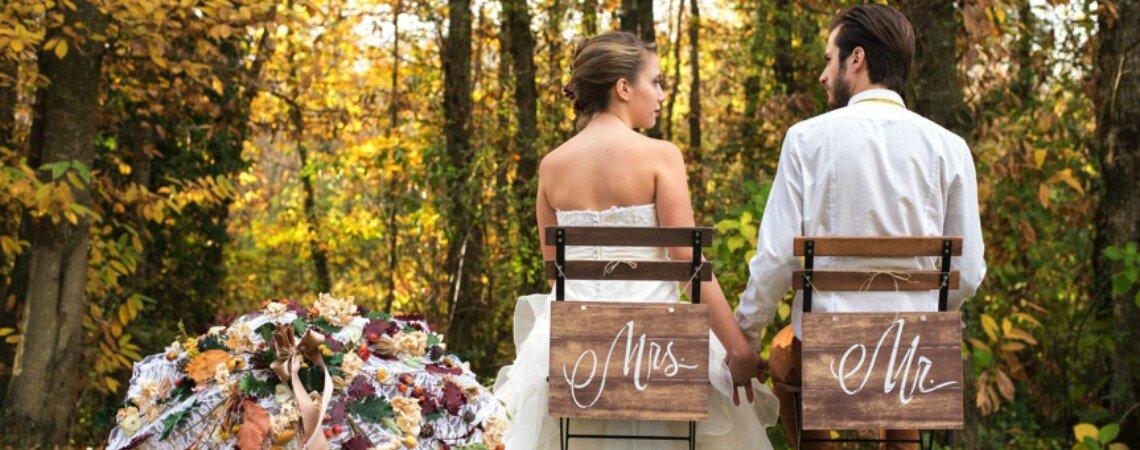 Atmosfera suggestiva e romanticismo malinconico: uno splendido matrimonio d'inverno