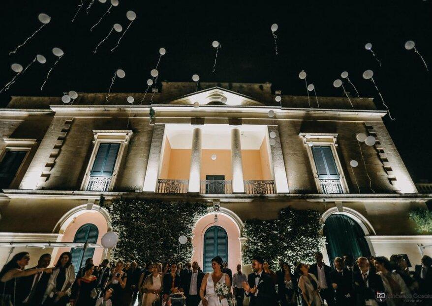Villa Zaira ovvero il tuo sogno d'amore in un palazzo baronale leccese