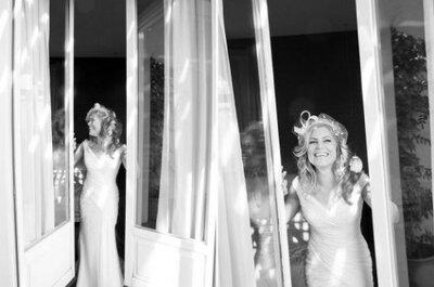 5 Dinge, die man niemals zu einer Braut an ihrem Hochzeitstag sagen sollte …