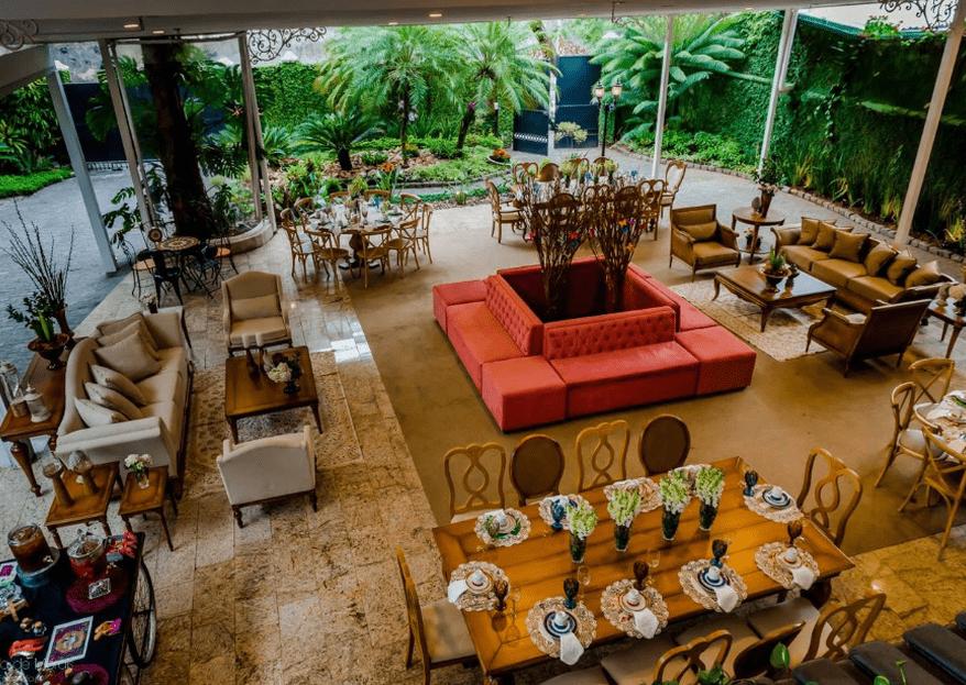 Le Jardin: um espaço sofisticado, intimista, onde todos os seus sonhos se tornam realidade!