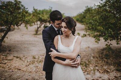 Inolvidable e irrepetible: la boda de Nuria y Jorge