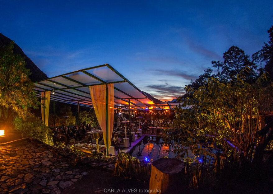Pousada Paraíso Açú: mais que um lugar com uma vista incrível, cercado de muito verde, um espaço exclusivo onde a festa não tem hora para acabar!