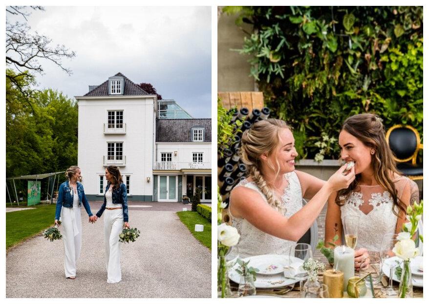 Styled Wedding Shoot: Stoere Love Chicks