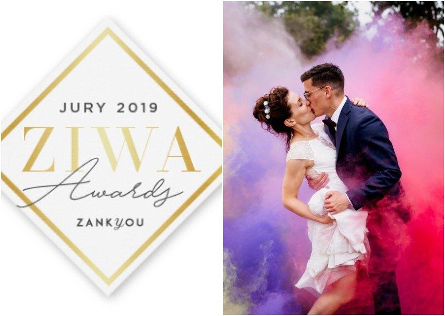 ZIWA 2019 : qui sont les meilleurs prestataires de mariage en France ? Découvrez la liste officielle des gagnants en 2019 !