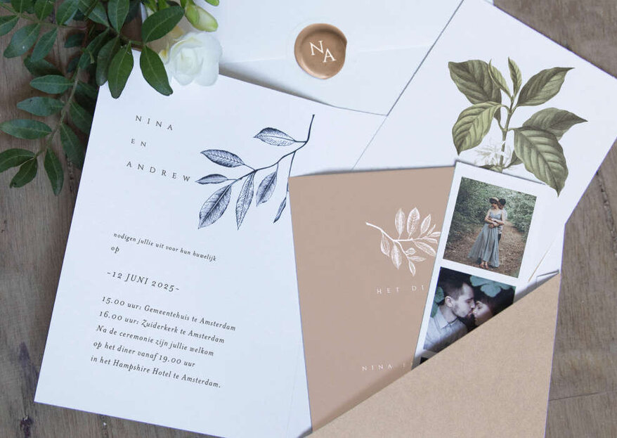 How To Write Your Wedding Invitations In 5 Simple Steps