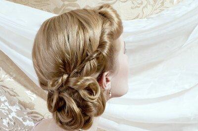 Peinados de novia vintage 2015: ¡un look clásico y chic!