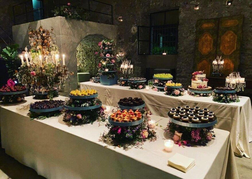 Prima in cucina porta in tavola creatività ed eleganza dall'antipasto fino alle sue incredibili torte nuziali!