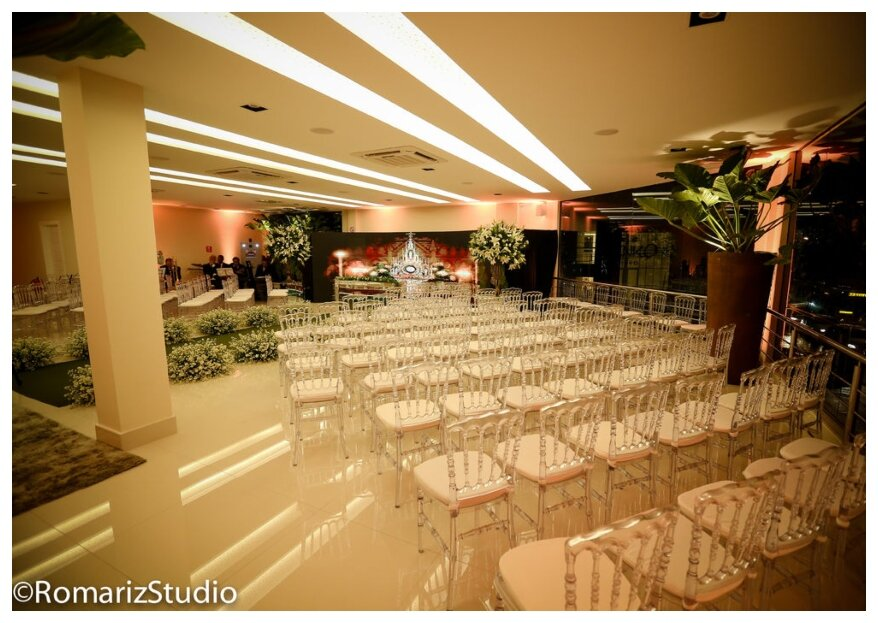 Um espaço elegante para realizar sua cerimônia e festa. Conheça o Granfest Marie, Niterói!