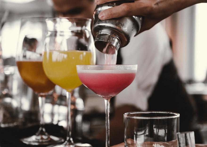 Cuánto cuesta la barra de bebidas para una boda