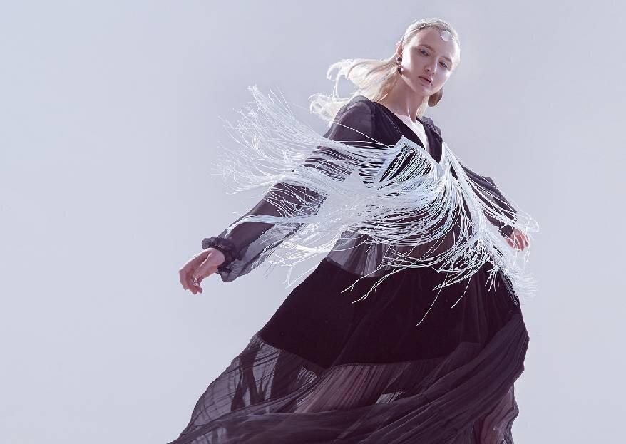 Показ Дома Моды «Svetlana Evstigneeva» в рамках Mercedes-Benz Fashion Week Russia в Манеже 3 апреля 2019 года
