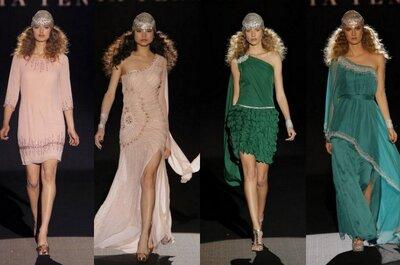 Inspírate en los vestidos de fiesta de Sonia Peña 2015 para crear un look arriesgado