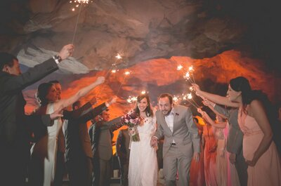 Decoração de casamento com luz âmbar: intimista e charmosa!
