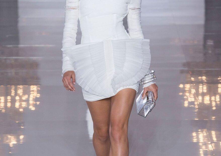 5 vestidos de París Fashion Week con los que podrías caminar al altar