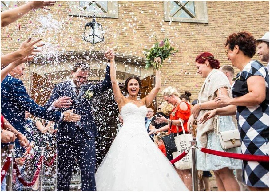 9 Tips voor een onvergetelijke exit van de bruiloft!