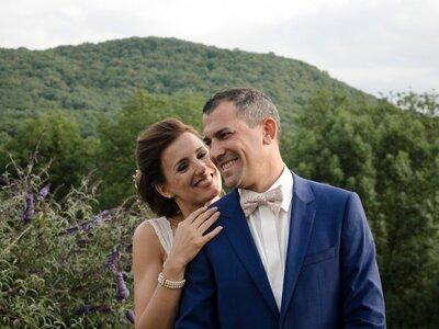 Géraldine et Franck : un mariage chic et champêtre en Auvergne