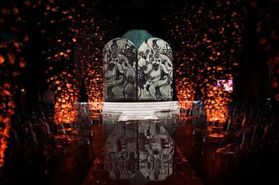 Легенда осени: яркая свадьба, оформленная VISIONÄR by Roman Kovalishin