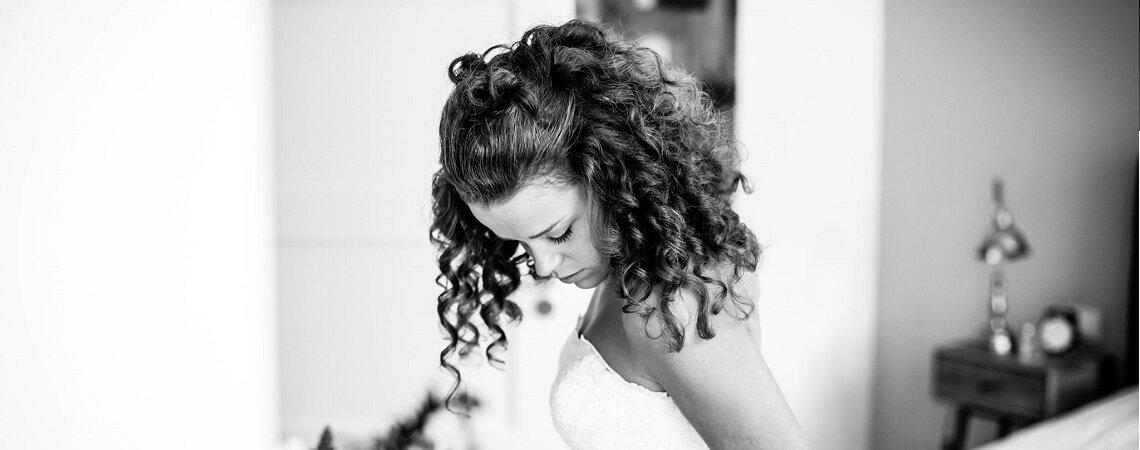 Krullen? De perfecte verzorging voor een perfect krullend bruidskapsel!