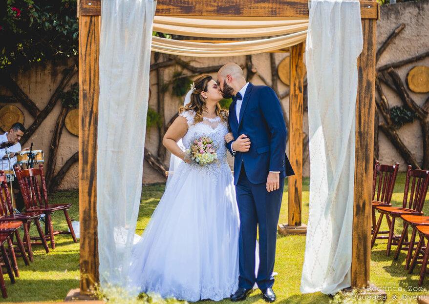 Recanto Zoe Pousada e Eventos: o espaço perfeito em Mairiporã para realizar o seu casamento e viver momentos únicos!