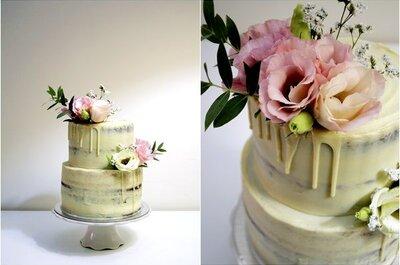 Drip Cake: bolos de casamento de darem água na boca... já em 2017!