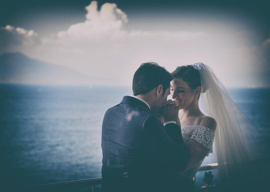 """""""Il tempo passa e tu non passi mai"""": le nozze di Lilla ed Angelo"""