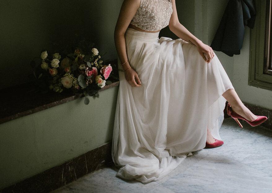Modelos diferentes, lindos e confortáveis: escolha seu sapato de noiva!