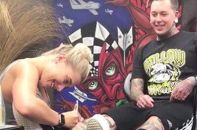 Antrag per Tattoo - was dieser junge Mann getan hat, wird Sie sprachlos machen!