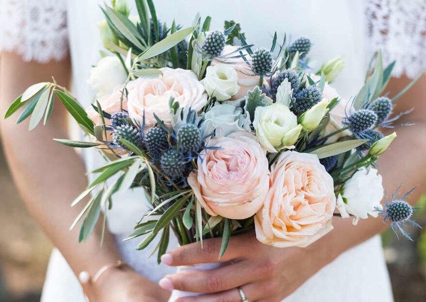 Cómo elegir el ramo de novia para mi boda en 5 pasos
