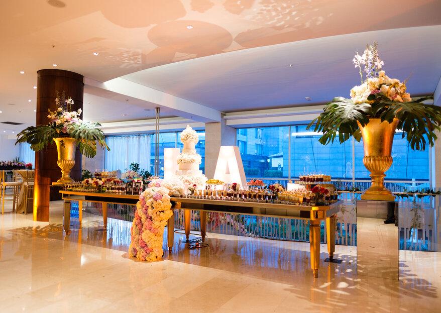Celebra tu boda en un hotel icónico en Bogotá, ¡tu gran día será mejor de lo que imaginaste!