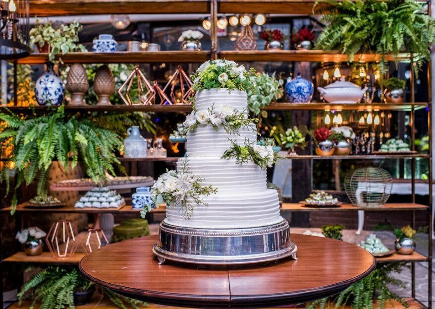 Dirce Corrêa Bolos: atendimento, qualidade, acabamento primoroso e sabores incríveis em cada fatia do seu bolo de casamento!
