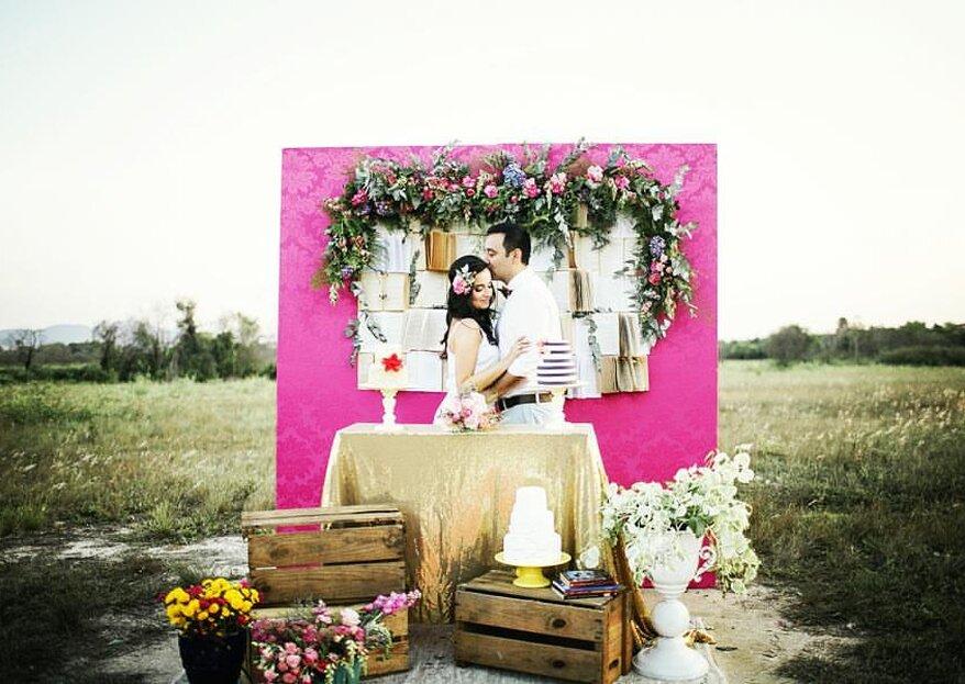 Come decorare il tuo matrimonio con il rosa fluo: realizza il tuo sogno di bambina!