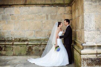 Laetitia et Pierre-Henri : Un mariage grandiose en bleu et blanc dans la cathédrale de Limoges