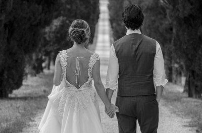 Exclusivo: a beleza da Toscana retratada em editorial de noivos romântico e inspirador