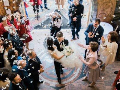 Ceremonia ormiańsko – polska w Rabce Zdrój. Prezentujemy Wam niezwykłe zaślubiny Ani i Wojtka!