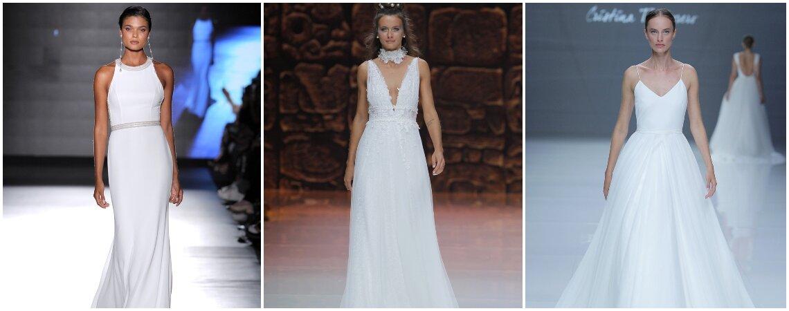 Vestidos de noiva para mulheres com muito peito: 40 modelos que quererá para si!