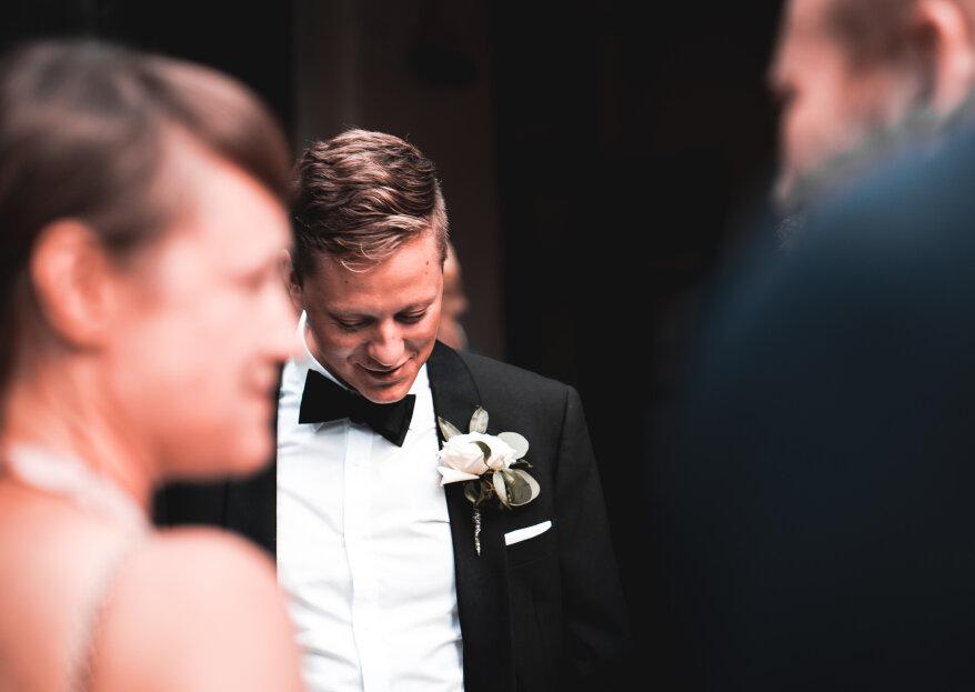 ¿Cómo elegir el traje del novio? ¡Sencillos consejos para robarse todas las miradas!