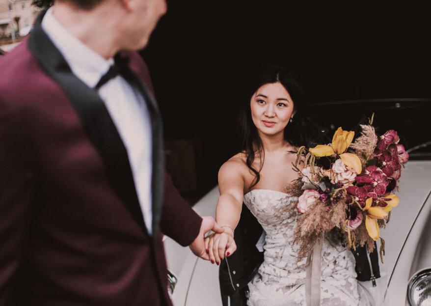 Styled Wedding Shoot: Dark Yes!