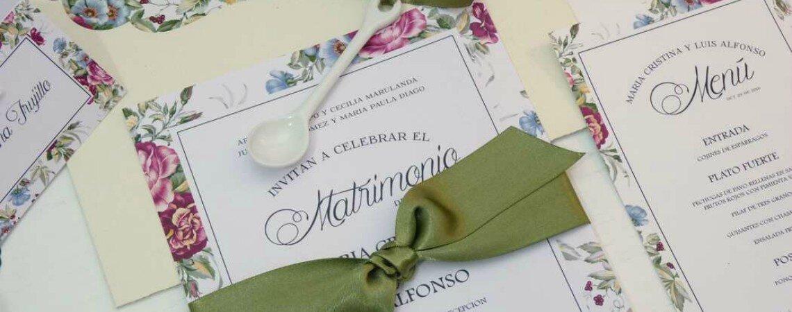 Estos son los 4 elementos que llevarán los colores de tu boda