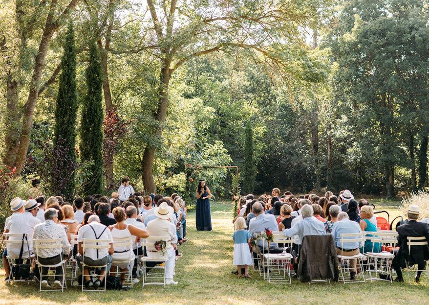 Le Moulin de la Recense : un cachet provençal authentique subtilement modernisé pour le plus beau jour de votre vie