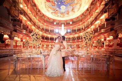 ¿Qué tipo de mesas usar en tu boda? Redondas, rectangulares...