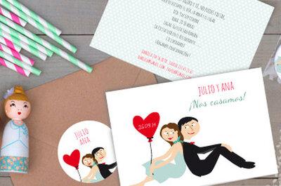 Comotinta: invitaciones de boda y detalles originales para una celebración con mucho estilo