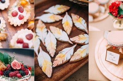 Сладкий стол и свадебный торт 2016: оригинальные идеи