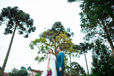 Rayane + Rodrigo: A Boho-Chic Wedding in Santa Catarina, Brazil
