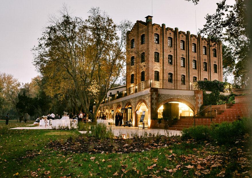 Celebra tu boda en un espacio único y exclusivo como La Farinera Sant Lluís