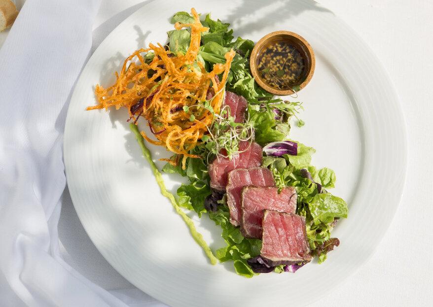 Quinto Tiempo Banquetería: un menú diseñado específicamente para cada pareja
