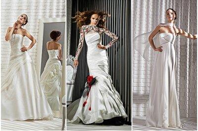 Vestidos de novia Gritti Spose 2013 para una novia poco convencional