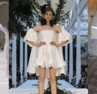 finest selection cabd4 eb2da Abiti da sposa corti: ecco i modelli più sbarazzini!